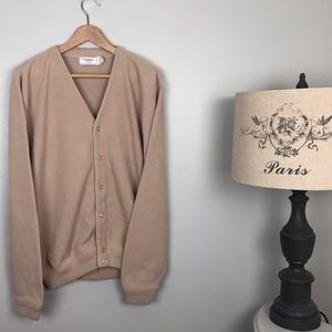 Vintage Classic by palm land sweater cardigan